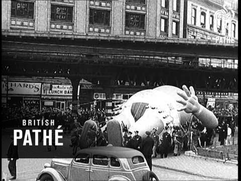 Macy's Thanksgiving Day Parade in 1935