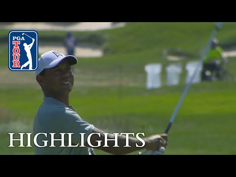 Tiger Woods' highlights | Roun …