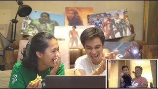 Video REACTION BAPAU LIAT RAFATHAR RAMPOK RUMAH !!! MP3, 3GP, MP4, WEBM, AVI, FLV Maret 2019