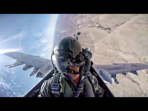 Cockpit video of A-10 Thunderbolt...