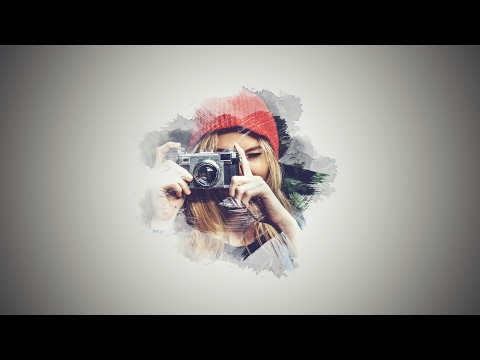 Photoshop Tutorial: Brush Effect Portrait (Brush) | Photo Manipulation | Photoshop CC