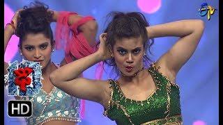 Aqsa Khan Performance  Dhee 10   1st November 2017 ETV Telugu