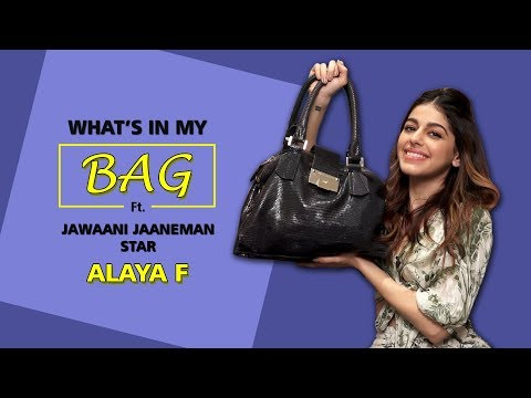 What's In My Bag With Alaya F | Jawaani Janemaan | Fashion | Makeup Choices | Koimoi
