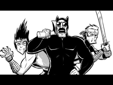 AXE COP - The Moon Warriors (Part 2, Episode 10)