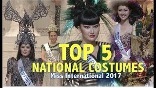 Video Miss International 2017: TOP 5 NATIONAL COSTUMES - FULL (HD) MP3, 3GP, MP4, WEBM, AVI, FLV November 2017