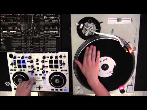 Turntable timecode vinyls and DJ mixing software
