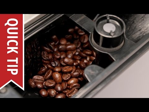 Quick Tip: Tuning Grind Size on Super-Automatic Espresso Machines