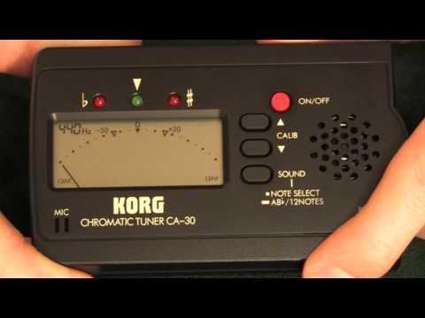 Video - Korg Chromatic Tuner | KT30