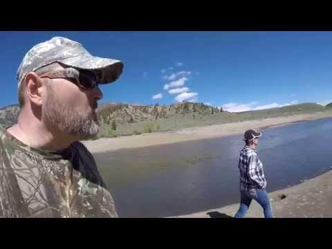 Green Mountan Reservoir. Первый выезд в горы в этом году. (видео)