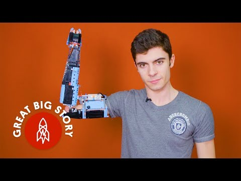 A Young Man Builds His Own Arm and Hand Prosthetics Using