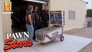 Pawn Stars: Evel Knievel Pinball Machine (Season 4) | History