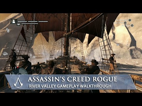 assassin - Assassin's Creed Rogue seamlessly blends naval and land based gameplay in the all new river valley setting. In this walkthrough commented by Game Director Ma...