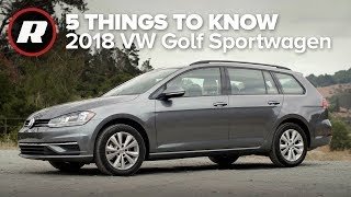 2018 Volkswagen Golf Sportwagen 4Motion: Five things to know by Roadshow