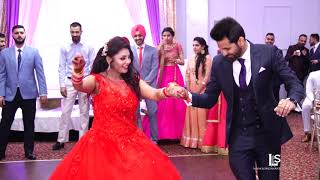Video latest Brampton best performance punjabi wedding  reception bride & groom Vinay & Rajvir MP3, 3GP, MP4, WEBM, AVI, FLV Maret 2019