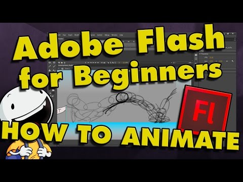 How To Animate in Flash CS6 & CC | Tutorial for Beginners