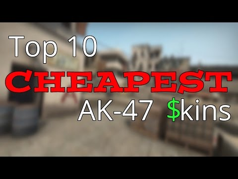 Video Top 10 Cheap AK-47 Skins download in MP3, 3GP, MP4, WEBM, AVI, FLV January 2017