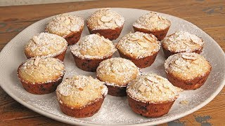 White Chocolate Almond Muffins | Episode 1238 by Laura in the Kitchen