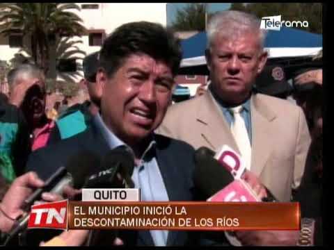 El municipio inició la descontaminación de los ríos