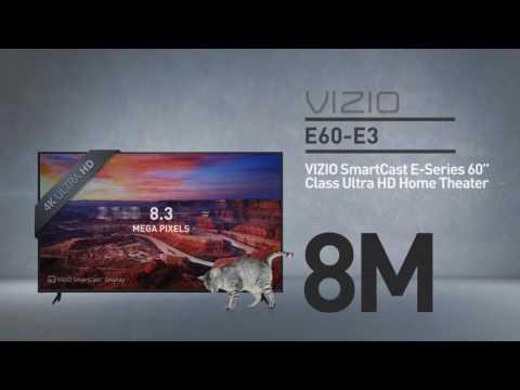 """All-New VIZIO E60-E3 SmartCast™ E-Series 60"""" Class Ultra HD // Full Specs Review  #VIZIO"""