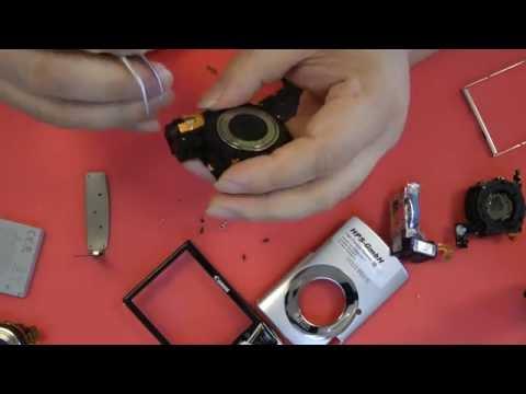 1A25 So baut man ein neues Objektiv (Lens) für Canon ixus 860 is ein (camera repair)
