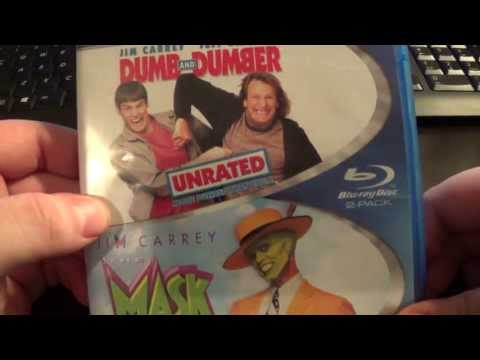 Dumb And Dumber/The Mask Blu Ray Unboxing