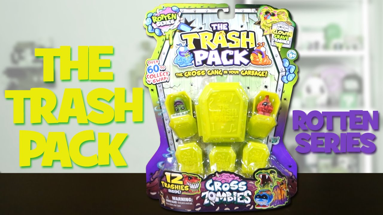 The Trash Pack Rotten Series!