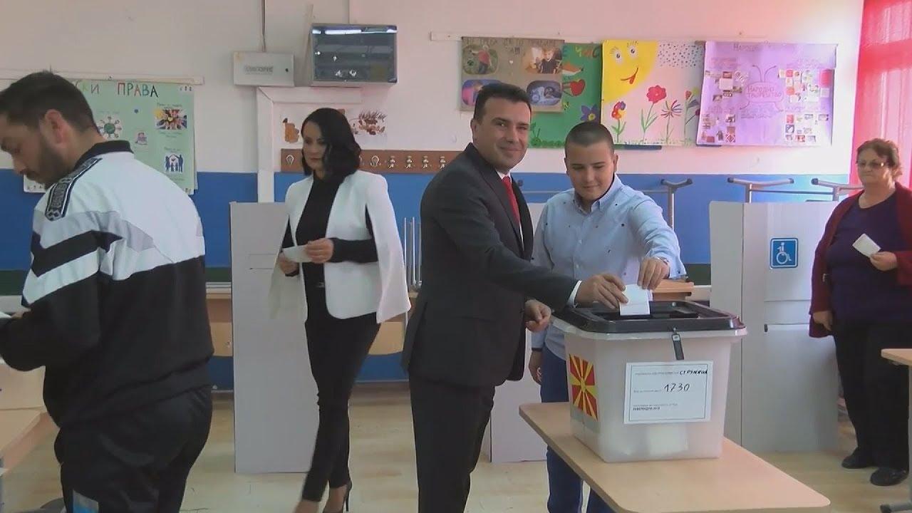 ΠΓΔΜ: Ο Πρωθυπουργός Ζ. Ζάεφ ψήφισε στη γενέτειρά του