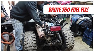 6. Brute Force 750 Fuel Filter / Strainer Replacement - Loss of Power Fixed