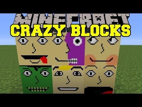 Minecraft: CRAZY BLOCKS (TROLLING, EMOTIONS, & FUNNY!) Mod Showcase