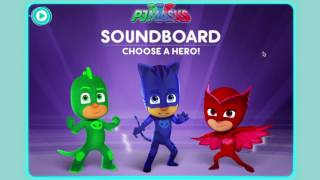 We test you PJ Masks knowledge with our new iPad Soundboard game. It's the first PJ Masks Episodes in our new season.