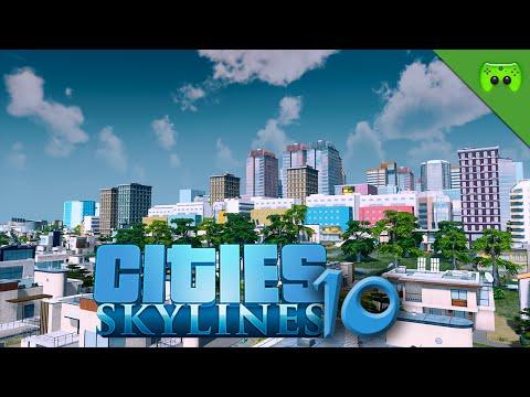 CITIES SKYLINES # 10 - Von Norden ins Industriegebiet «» Let's Play Cities Skylines   HD60