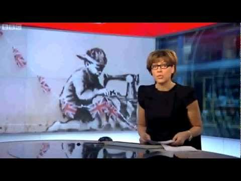 greenlondon - An incredible news report from Wood Green in London where a painting by Banksy was secretly removed from the side of a building, flown to Miami and listed at...