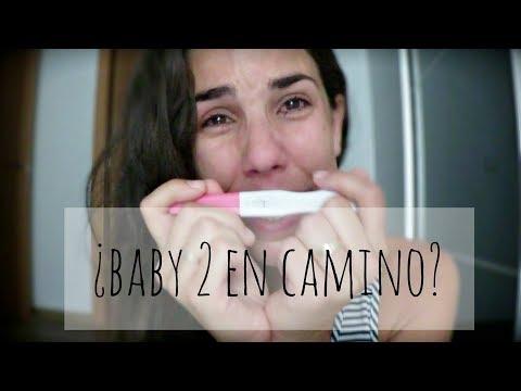 TEST DE EMBARAZO EN DIRECTO | Prueba de embarazo + reacción de mi hijo