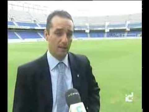 Presentación de José Luis Oltra como entrenador del CD Tenerife