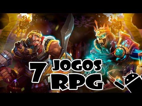 Os Melhores Jogos RPG para Android - ( PVP , Multiplayer , Online , Aventura )