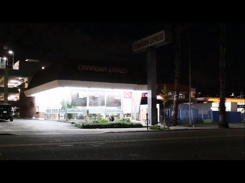 Nightcrawler (2014) - Chinatown Express Shootout Filming Location