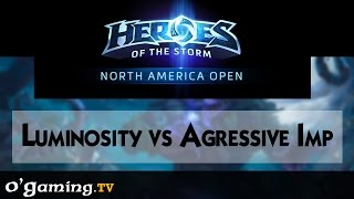 Luminosity vs Aggressive Imp - Road to Blizzcon - NA Open - Qualifiers Day 1