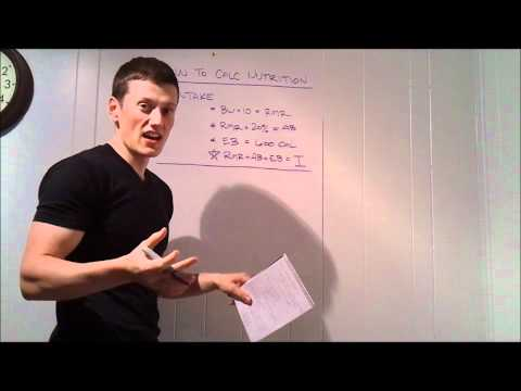 Coach Todd – Calculating Your P90X Nutrition Plan – Precision Nutrition!