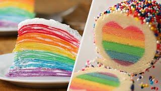 7 Dazzling Rainbow Recipes • Tasty by Tasty