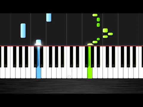 Carol of the Bells   EASY Piano Tutorial by PlutaX   Synthesia
