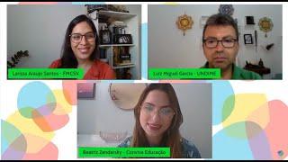 Videoconferência sobre o curso Primeira Infância Primeiro no PPA!