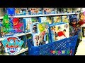 "PJ MASKS and PAW PATROL TOY HUNT at Toys ""R"" Us! Kids Toy Store Family Fun Trip! TBTFUNTV"
