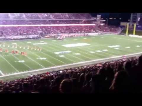 Ottawa RedBlacks vs. B.C. Lions September 5, 2014 Canadian National Anthem