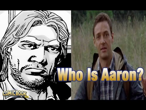 chi è aaron? - the walking dead