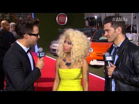 Nicki Minaj Red Carpet Interview AMA 2012