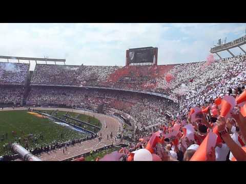 Salida de River Plate vs bosta - 28/10/2012 - Los Borrachos del Tablón - River Plate
