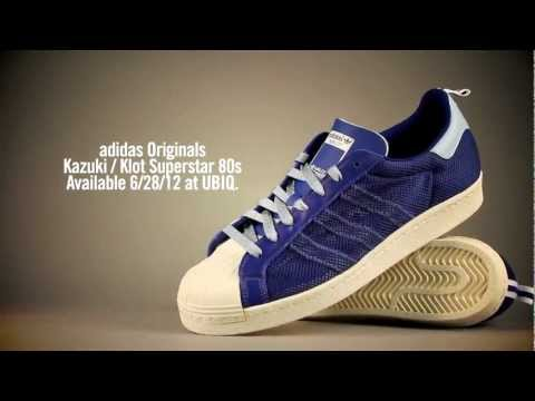 0 CLOT x Kazuki Kuraishi x adidas Originals  kzkLOT Superstar 80′s Royal Blue | UBIQ Life Launch Event