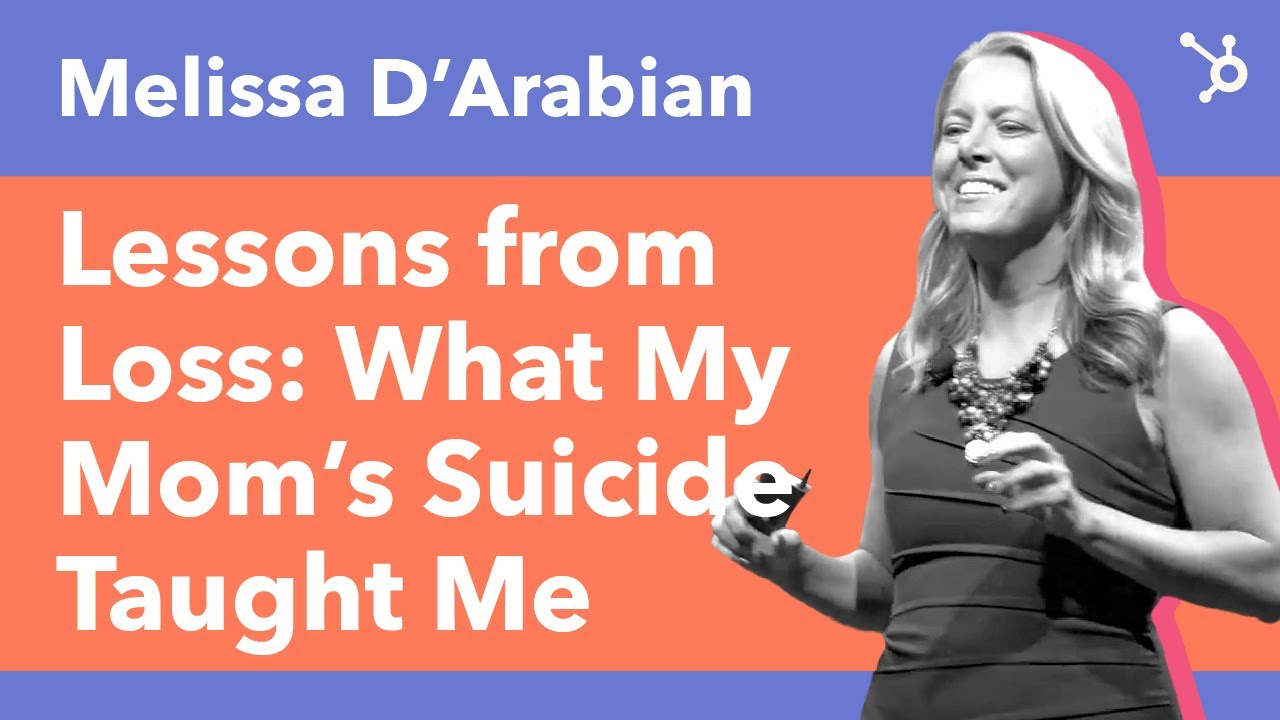 """INBOUND Bold Talks: Melissa D'Arabian """"Lessons From Loss: What My Mom's Suicide Taught Me"""""""