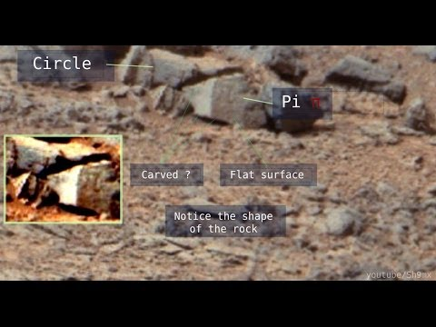 Pi Symbol found on Mars, Hieroglyphs and more