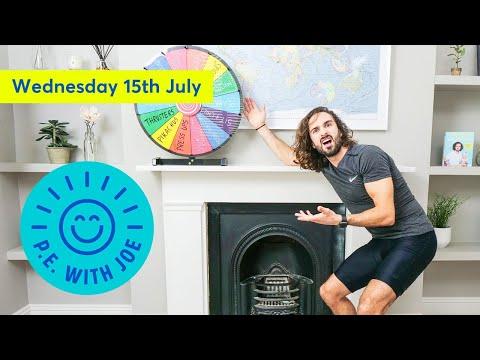 PE With Joe   Wednesday 15th July